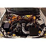 2004-2014 Mazda 3 Sedan Single-Color Standard Engine Bay LED Kit, Amber (Color: Amber)