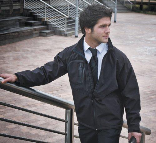 Mens Result Tech Ultra Lite Soft Shell Jacket Small Black