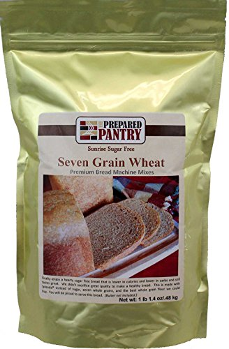 The Prepared Pantry Sunrise Sugar Free 7 Grain Wheat Gourmet Bread Machine Mix, 17.4 Ounce (Pack of 20)