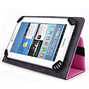 "IDeaUSA iDea7 CT705 7"" Tablet Case - UniGrip Edition - PINK"