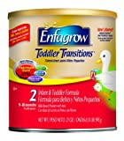 Enfagrow Toddler Transitions, 21 Ounce Powder for toddlers 9-18 months (Pack of 4)