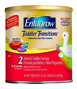 美赞臣 Enfagrow Toddler Transitions Powder 2段婴幼儿奶粉4罐装折后$51.12
