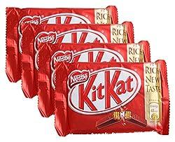 Big Bazaar Combo - Nestle Chocolate Kit Kat Milk, 37.3g (Buy 3 Get 1, 4 Pieces) Promo Pack