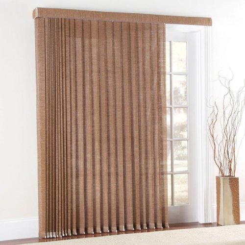 Sliding glass door window treatments discount brylanehome for 84 sliding glass door