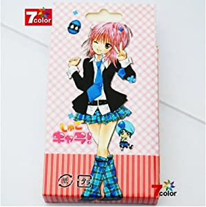 Japan Animation ?????? Shugo Chara Hinamori Amu Poker Cards 54 Different Pic