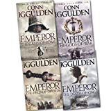 Conn Iggulden Conn Iggulden Emperor Series 4 Titles 3 Books Set Collection RRP £23.97 (Conn Iggulden Collection) (Emperor:The Gods of War, Emperor:The Field of Swords, Emperor: The Death of Kings, Emperor: The Gates of Rome)