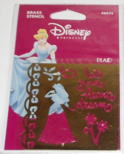 Disney Princess Brass Stencil - 46625 - Sleeping Beauty