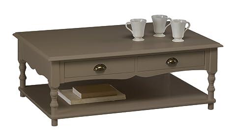 Actual diffusione 300Windsor Tavolino Rettangolare con 2cassetti legno 70x 100x 38cm