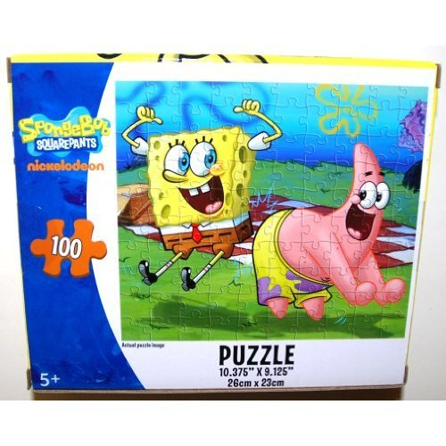 Cheap Cardinal SpongeBob SquarePants 100 Piece Jigsaw Puzzle, SpongeBob and Patrick Star Boogie Dancing at the Picnic (1 Each) (B003BWIQIM)