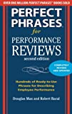 img - for Perfect Phrases for Performance Reviews 2/E (Perfect Phrases Series) book / textbook / text book