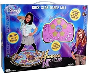 Creative Designs Educational Products - Hannah Montana Dance Mat - hannah montana