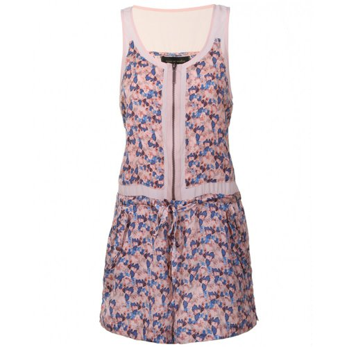House of Dereon Ditsy Floral Playsuit Pink Pink