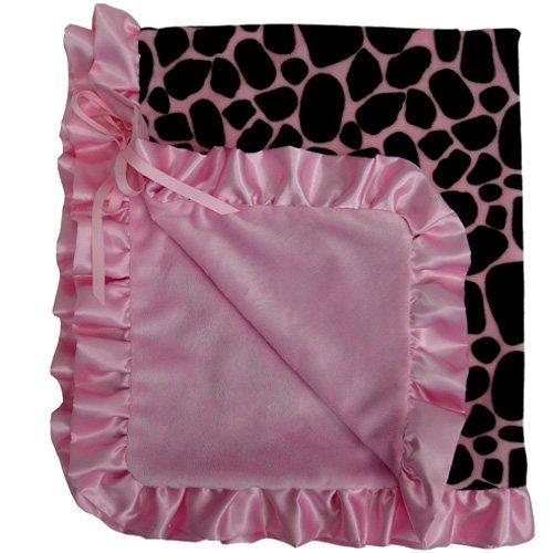 Baby Bella Maya BLST001GG Stroller Blanket Ginny Giraffe - 1