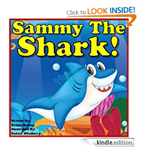 Children's Book: Sammy The Shark: Finds Four Friends! (Colorful Children's Books Series) Child's Book For Kids Ages 2-6