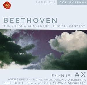5 Piano Concertos, The, Choral Fantasy (Previn, Rpo, Ax)