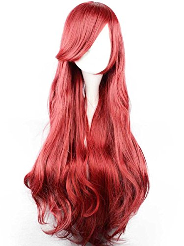 Wraith of East Adult Princess Ariel Wig Cosplay Accessories Long Hair Rayon
