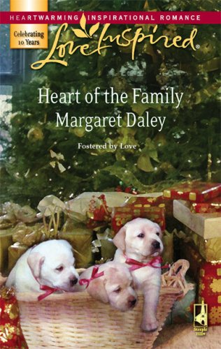 Image of Heart of the Family (Fostered by Love Series #2) (Love Inspired #425)