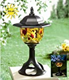 Princess International Tiffany Style Solar Patio & Garden Light