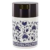 Blue Vine Vacuum Seal Tea Canister