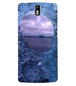 ColourCraft Amazing Water Effect Design Back Case Cover for OnePlus One
