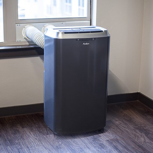 Avallon 14,000 BTU Dual Hose Portable Air Conditioner and Heater - No draining required (Portable Air Conditioner Idylis compare prices)