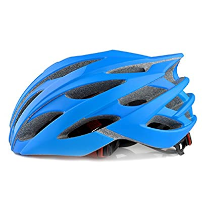Mens Women's Unisex Cycling Bicycle Adult Bike Helmet in Blue Size 54-60cm by Powerbank2013
