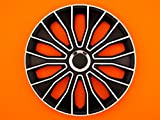 ALFA ROMEO BRERA (2006 on) 15 Inch Voltec Pro Car Alloy Wheel Trims Hub Caps Set of 4