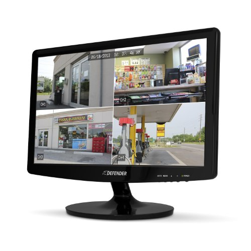 "Defender 19"" Super Slim High Resolution Led Monitor With Stand &Vesa Mount Compatibility"