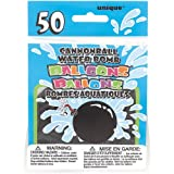Unique Party Latex Cannonball Water Balloons (Pack of 50)