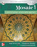img - for Mosaic 1 Listening and Speaking Student Book with Audio Highlights CD, Silver Edition book / textbook / text book