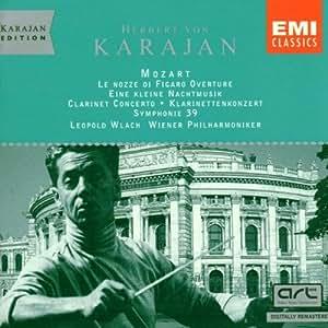 Symphony 39 / Clarinet Cto / Nachtmusik