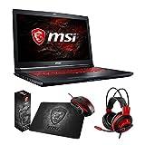 MSI GL72M 7RDX-800 (i7-7700HQ, 8GB RAM, 128GB SATA SSD + 1TB HDD, NVIDIA GTX 1050 2GB, 17.3