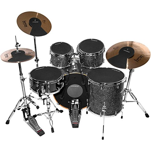 Ahead Drum Silencer Pack With Cymbal And Hi-Hat Mutes 10/12/13/14/14/16/22 Inch