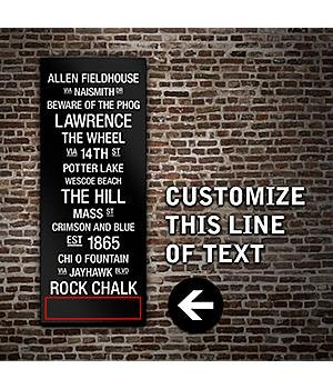 College Subway Canvas Wall Art College Subway Canvas Wall