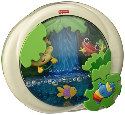 Fisher-Price Rainforest Peek-a-Boo Soother, Waterfall - 1