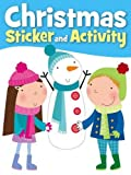 Carly Blake Christmas Sticker Activity Let it Snow