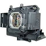 AuraBeam Economy NEC NP15LP Projector Replacement Lamp With Housing