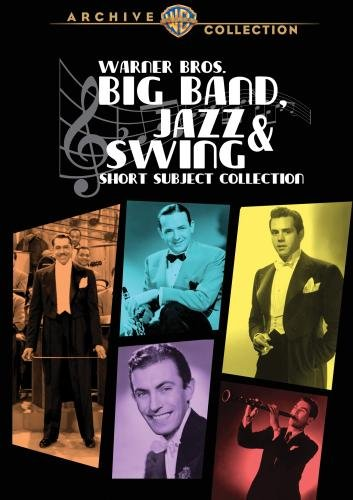 Warner Bros. Big Band Jazz & Swing-Short Subject Collection (63 Shorts 1932-1946) (6 Discs) front-326576
