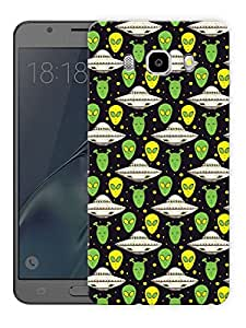 """Cute Aliens PatternPrinted Designer Mobile Back Cover For """"Samsung Galaxy J5 2016 Edition"""" (3D, Matte, Premium Quality Snap On Case)"""