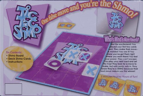 Tic Tac Shmo (Board Game in a Tin) One false move and you're the Shmo