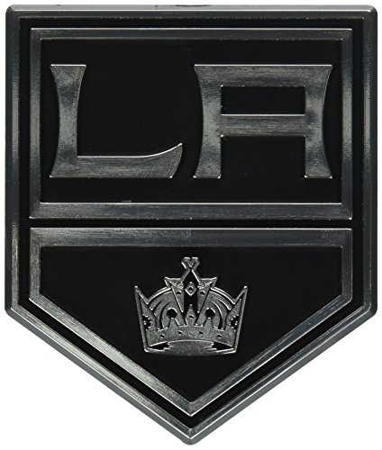 NHL Los Angeles Kings Chrome Emblem, One Size, One Color (Kings Emblem compare prices)
