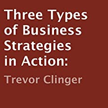 Three Types of Business Strategies in Action (       UNABRIDGED) by Trevor Clinger Narrated by John Daigle