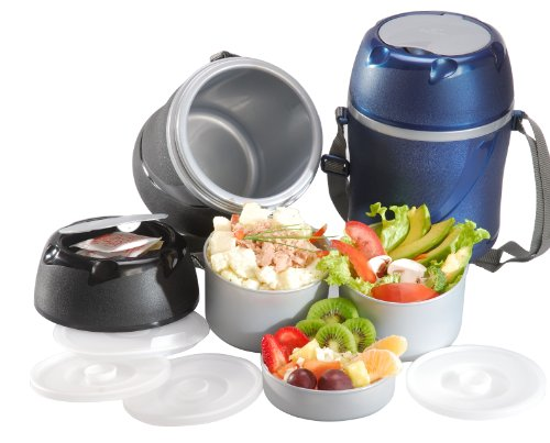 Imusa Sky Thermal Food Carrier, Color may vary