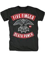 Five Finger Death Punch Herren Fan T-Shirt - 5FDP Eagle Knuckle