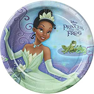 Amazon.com: Princess and the Frog Lunch Plates 8ct: Toys