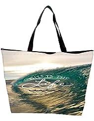 Snoogg Beach Wave Life Waterproof Bag Made Of High Strength Nylon