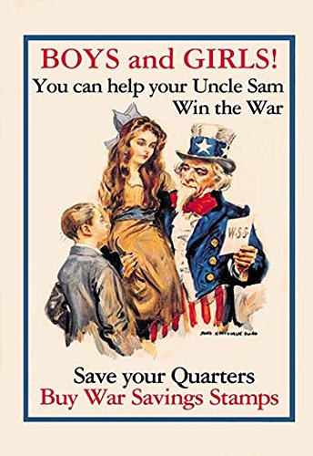buyenlarge-0-587-00139-9-g1827-uncle-sam-boys-girls-giclee-fine-art-print-18-x-27