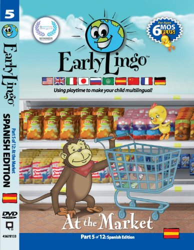 Early Lingo at The Market DVD (Part 5 Spanish)
