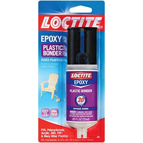 Loctite Epoxy Plastic Bonder 0 85 Fluid Ounce Syringe