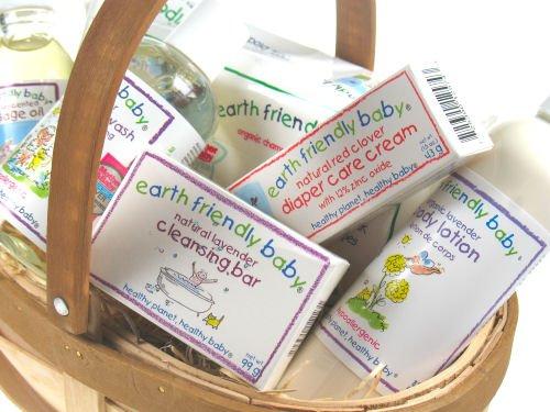 Large Organic Baby Gift Basket